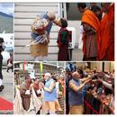 PRIME MINISTER NARENDRA MODI GETS GRAND WELCOME IN BHUTAN, INTERACTS WITH STUDENTS IN THIMPU