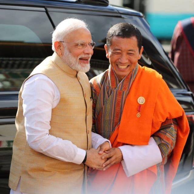 BHUTAN PM LOTAY TSHERING HAILS INDIA'S LEADERSHIP IN REGIONAL & GLOBAL AFFAIRS