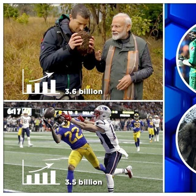 PM MODI'S MAN VS WILD EPISODE BEATS THE SUPER BOWL ON TRENDING CHARTS, HERE'S HOW IMPRESSIVE THIS IS