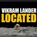 ISRO LOCATES VIKRAM LANDER