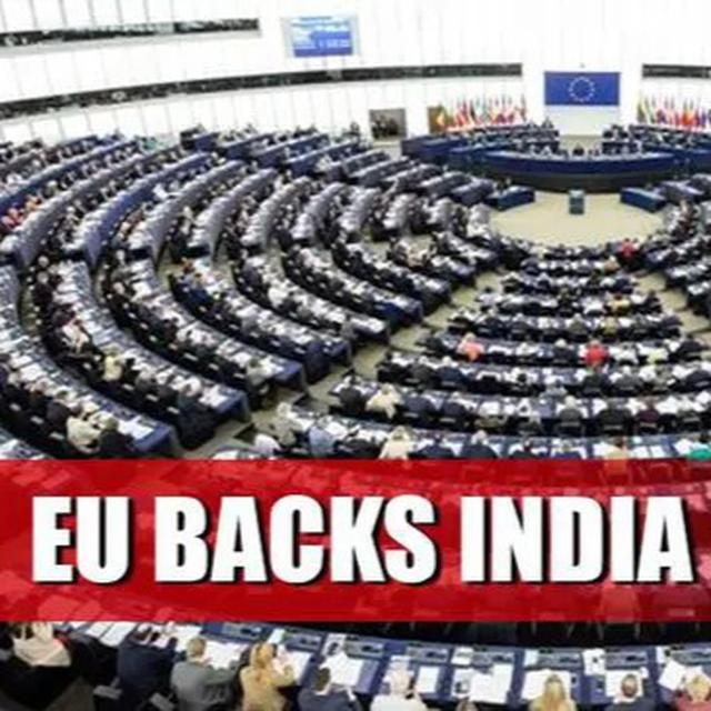 EP SUPPORTS INDIA ON KASHMIR ISSUE