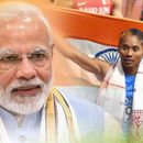 HIMA DAS LAUDS PM MODI'S FIT INDIA