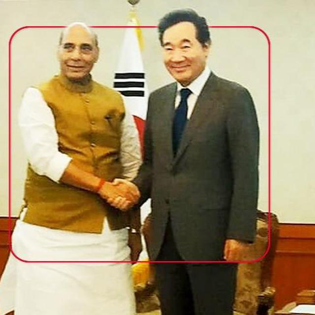RAJNATH IN 'LIGHT OF EAST'