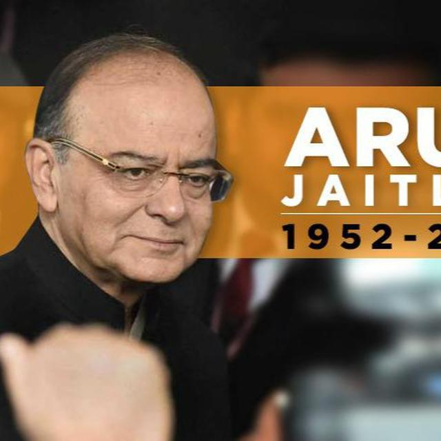 ARUN JAITLEY'S POLITICAL CAREER