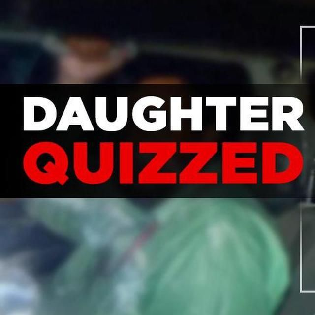 SHIVAKUMAR'S DAUGHTER BEING QUIZZED