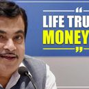 NITIN GADKARI DEFENDS HEFTY FINES