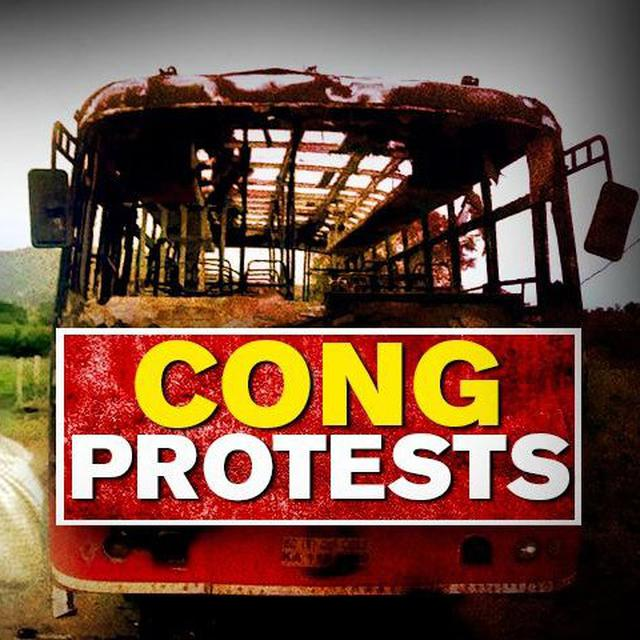 SHIVAKUMAR ARREST: CONGRESS PROTEST