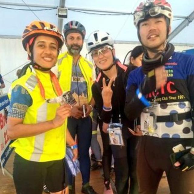NAVY ON WOMAN'S CYCLING EVENT WIN