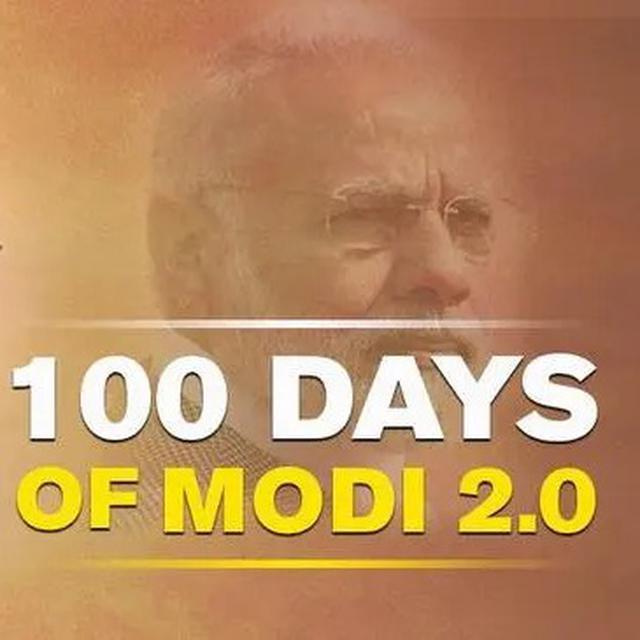PM MODI'S 100-DAY REPORT CARD