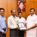 ISRO'S K SIVAN HONOURED BY TN CM
