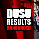 DUSU RESULTS ANNOUNCED