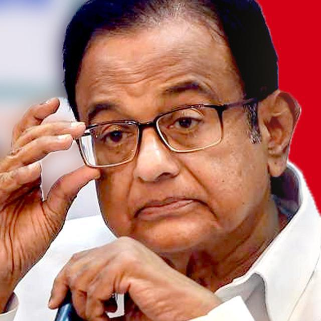 CHIDAMBARAM'S FIRST DAY IN TIHAR