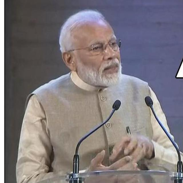 PM MODI ATTACKS CONG ON ARTICLE 370