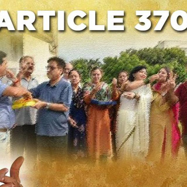 KASHMIRI PANDITS ON ARTICLE 370