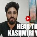 HEAR THE VOICE OF KASHMIRI YOUTH